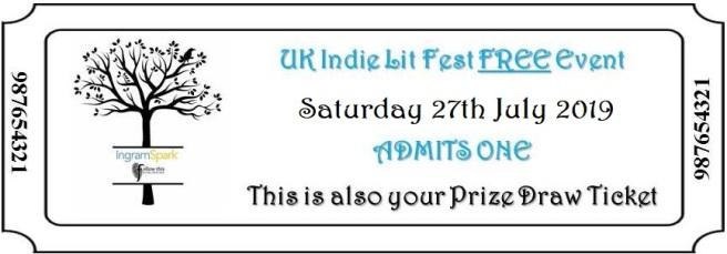 2019 UK Indie Lit Fest ticket